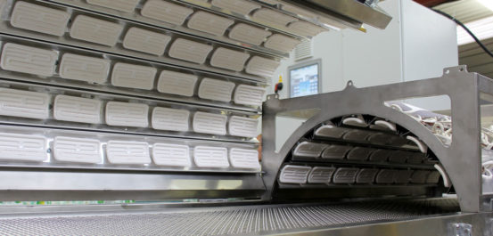 industrial conveyor ovens 42kw curing oven