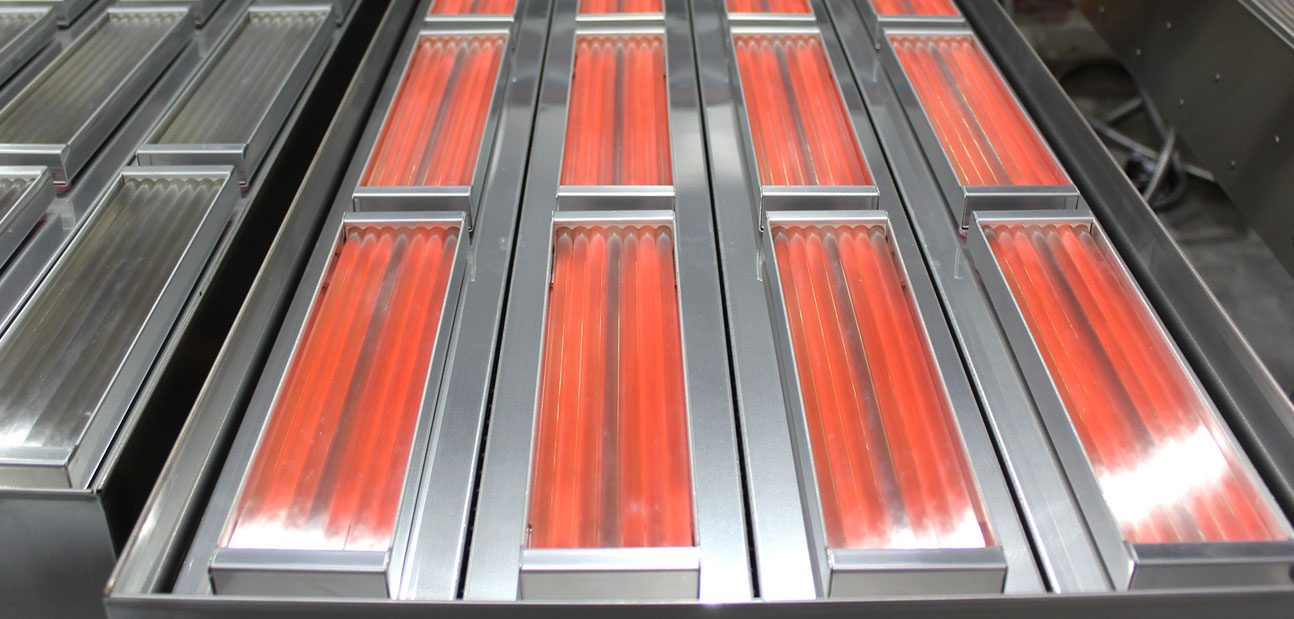 industrial conveyor ovens infrared heating panel replacement