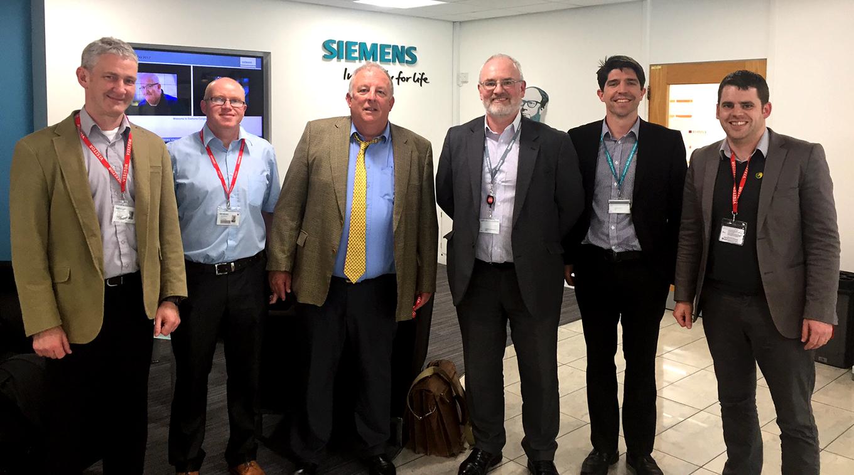 Siemens visit