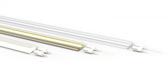 Quartz Twin Tube Elements